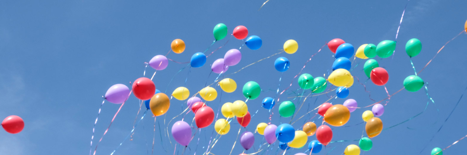 Diversity -  Colourful balloons in the air